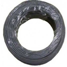 CABLE LIBRE HALOGENOS GRIS 6MM C-100MTS